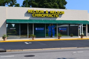 Lumberton, NC location of Nelson and Nelson Chiropratic