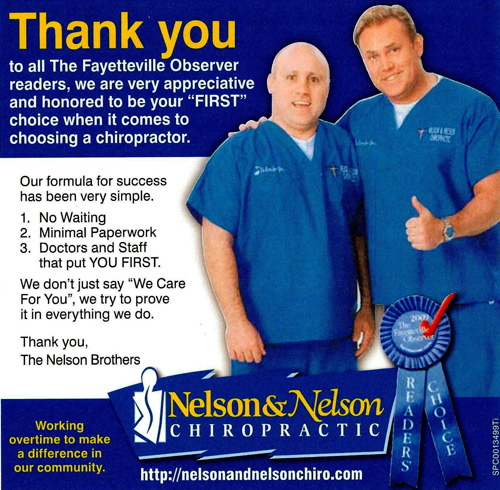 Doctors Garry and Tyler Nelson